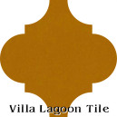 """Oro"" Arabesque Classic Cement Tile"