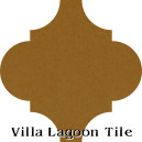 """Deep Mustard"" Arabesque Classic Cement Tile"