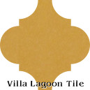 """Maple Sugar"" Arabesque Classic Cement Tile"