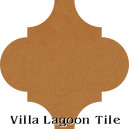 """Ochre"" Arabesque Classic Cement Tile"