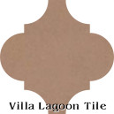 """Spiced Chai"" Arabesque Classic Cement Tile"