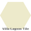 """Alabaster"" Hexagonal Cement Tile"