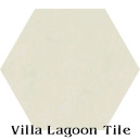 """Ancestral Cream"" Hexagonal Cement Tile"