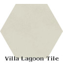 """Putty"" Hexagonal Cement Tile"