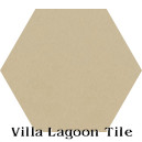 """Buff"" Hexagonal Cement Tile"
