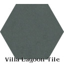 """Cityscape"" Hexagonal Cement Tile"
