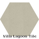 """Dove"" Hexagonal Cement Tile"