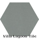 """Mountain"" Hexagonal Cement Tile"