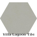 """Pebble"" Hexagonal Cement Tile"