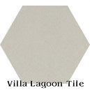"""Limestone"" Hexagonal Cement Tile"