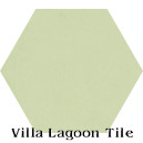 """Patina"" Hexagonal Cement Tile"