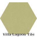 """Lichen"" Hexagonal Cement Tile"