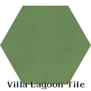 """Peridot"" Hexagonal Cement Tile"