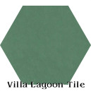 """Jade"" Hexagonal Cement Tile"