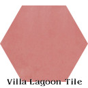 """Blush"" Hexagonal Cement Tile"