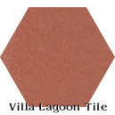 """Terracotta"" Hexagonal Cement Tile"