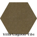 """Bronze"" Hexagonal Cement Tile"