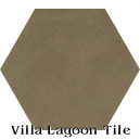 """Latte"" Hexagonal Cement Tile"