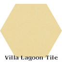 """Straw"" Hexagonal Cement Tile"