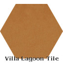 """Ochre"" Hexagonal Cement Tile"