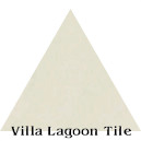 """Ancestral Cream"" Troika Triangle Cement Tile"