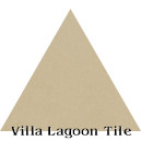 """Buff"" Troika Triangle Cement Tile"
