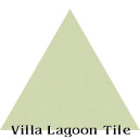 """Patina"" Troika Triangle Cement Tile"