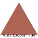 """Terracotta"" Troika Triangle Cement Tile"