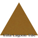 """Deep Mustard"" Troika Triangle Cement Tile"