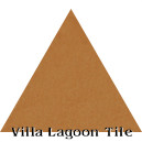 """Ochre"" Troika Triangle Cement Tile"
