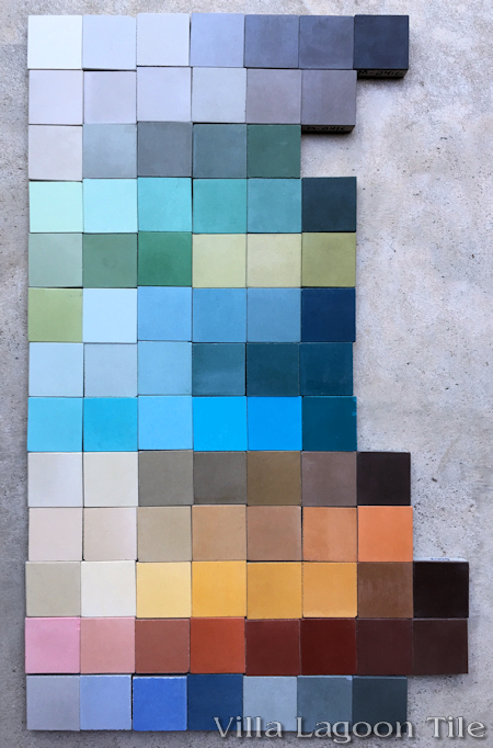 Cement Tile Color Palettes Villa Lagoon Tile