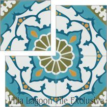 """Amalena Meadow"" Cement Tile"
