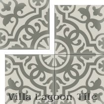 Amelia Cararra gray on gray cement tile