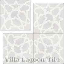 """Andalusia Fog"" Cement Tile"