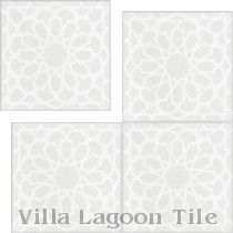 """Andalusia Petite Fog"" Cement Tile"