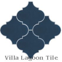 Arabesque Classic, Deep Inlet Cement Tile