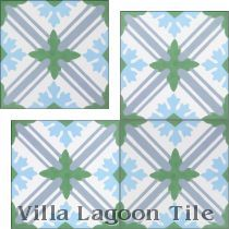 """Camille"" Cement Tile"