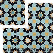 """Casablanca"" Cement Tile"