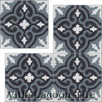 """Fiore C Mountain"" Cement Tile"