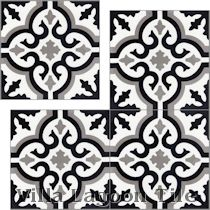 """Fiore C Sencillo"" Cement Tile"