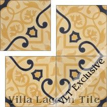 """Gypsy Gold"" Cement Tile"
