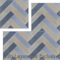 """Herringbone"" Cement Tile"