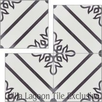 """Marbella"" Cement Tile"
