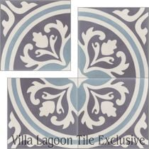 """Mia"" Cement Tile"