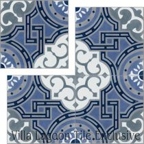 """Michael Glacier"" Cement Tile"