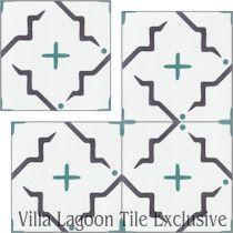 """Ozaz April"" Cement Tile"
