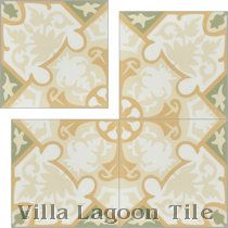 """Rumba Fresco"" Cement Tile"