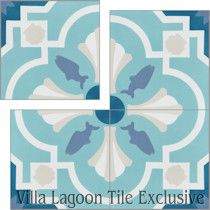 """Savona A Seaside"" Cement Tile"