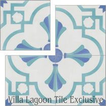 """Savona B Palm Beach"" Cement Tile"