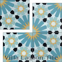 """Tangier"" Cement Tile"
